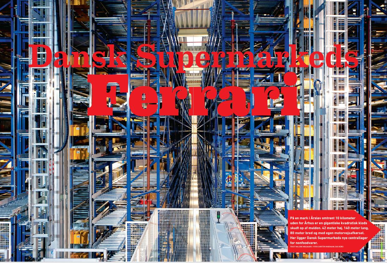 Reportage fra Dansk Supermarkeds nonfoodlager